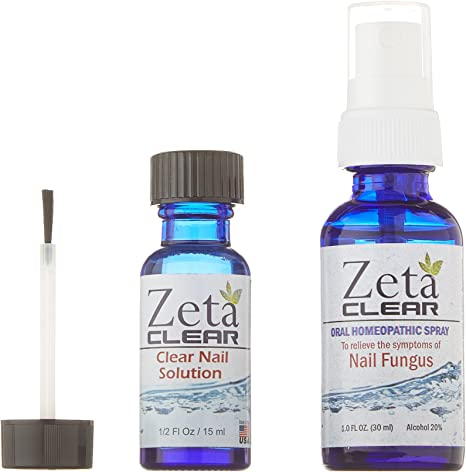 Amazon Com 1 Zetaclear Nail Fungus Formula 1 Fl Oz Oral Spray