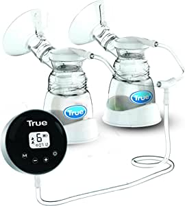 True Gold 2019999 Electric Breast pump 9 Levels -2 modes stimulation & expression- Double pumping option