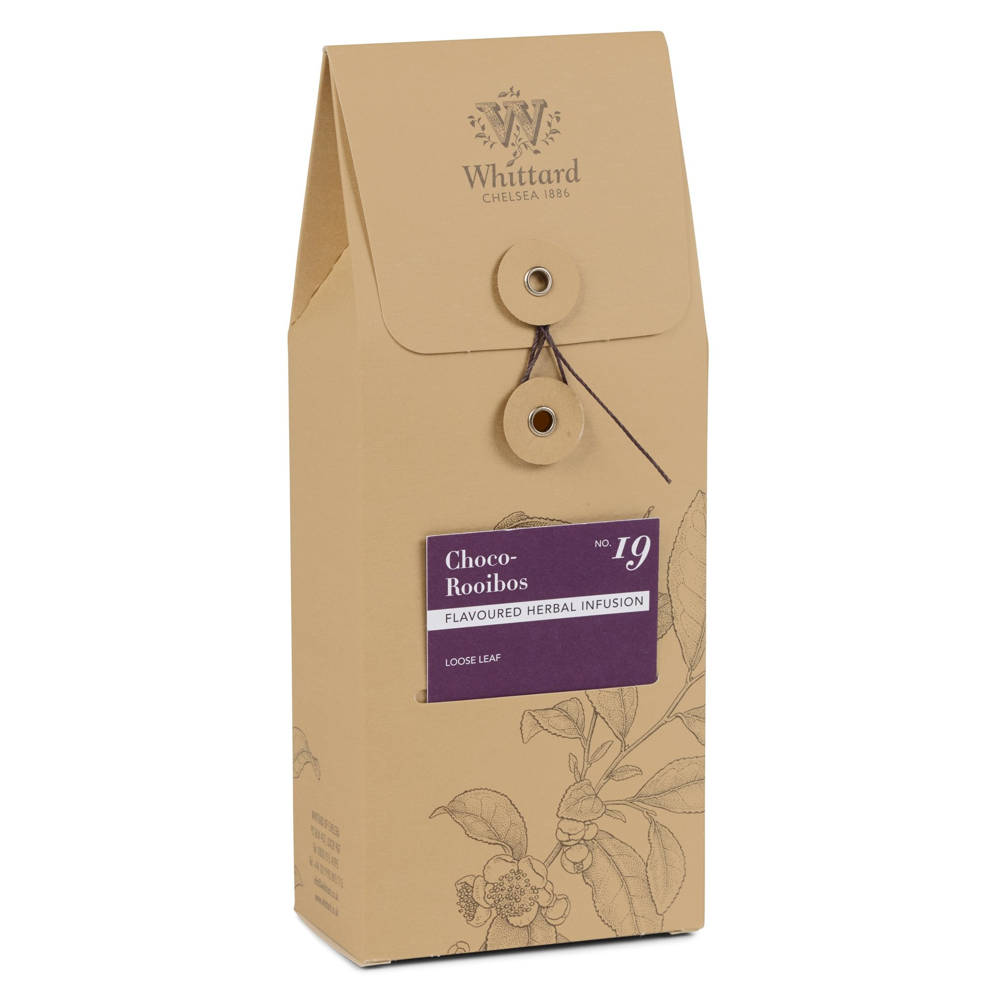 Whittard Tea Choco-Rooibos Loose Leaf 100g