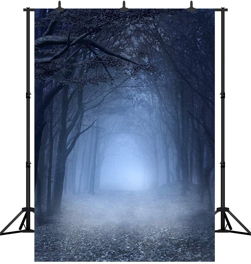 CdHBH 10x12ft Horror Forest Photo Studio Studio Photography Photography Props Portrait Clothing Photo Photography Background Cloth Festival Venue Party Decoration Wallpaper Home Decoration