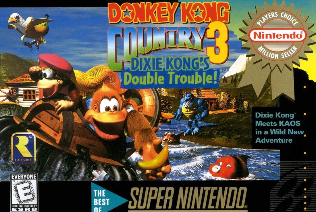 Donkey Kong Country 3: Dixie Kongs Double Trouble - Nintendo Super NES (Renewed)