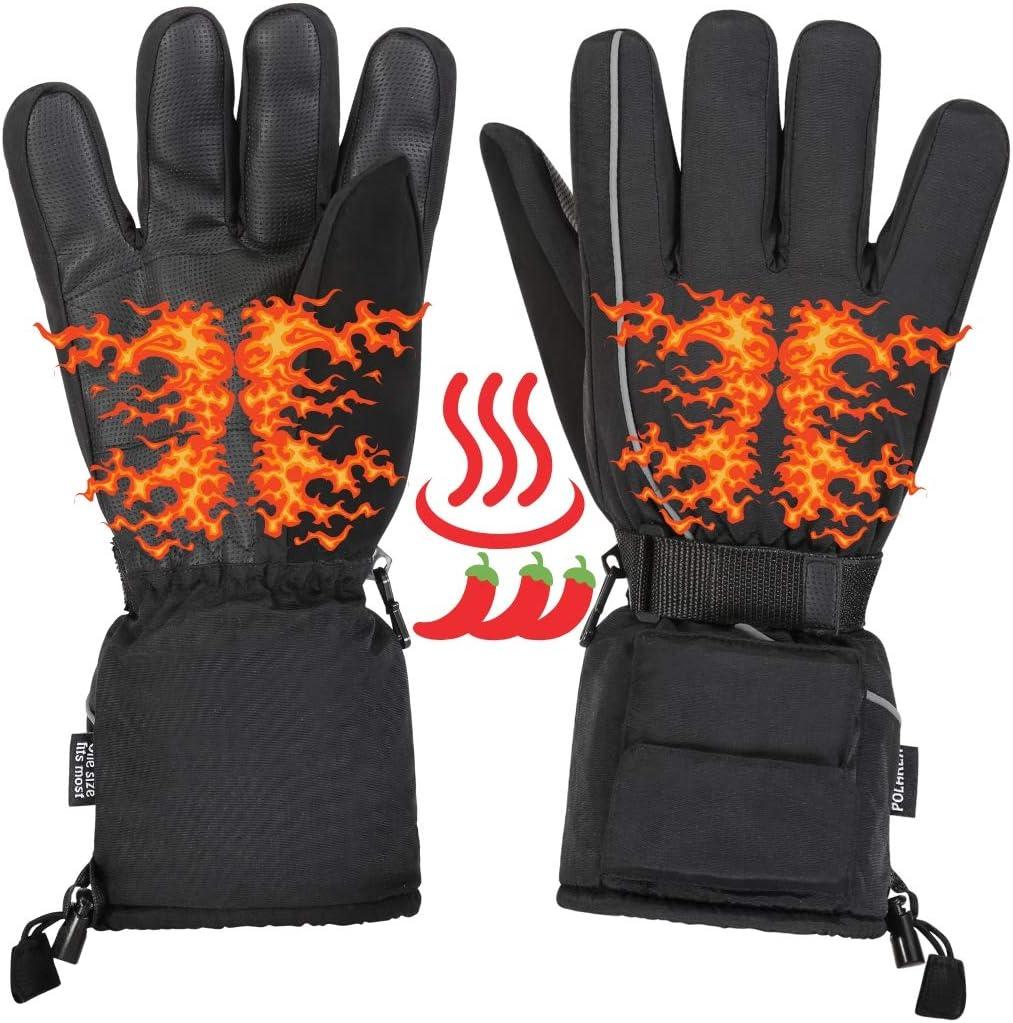 Winter Outdoor Electric Waterproof Heated Hands Gloves /& Insoles Foot Warmer
