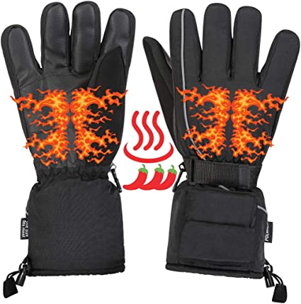 Winter Outdoor Electric Waterproof Heated Hands Gloves /& Insoles Foot Warmer