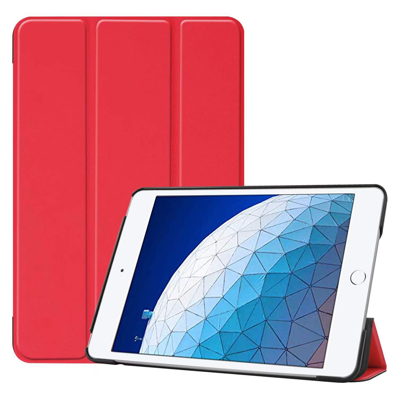 【海外 正規品】 RLTech iPad Air 10.5ケース、iPad Air iPad 2019 2019 Air 10.5用スタンド機能付きスリム軽量スマートシェルフォリオカバー、レッド B07PX9J9RZ, 日中愛源:c422c775 --- a0267596.xsph.ru