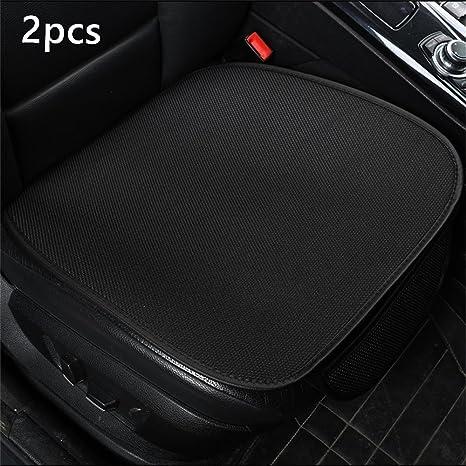 Cotton Cloth Car Seat Cushion Universal 1PC Car Interior Accessories Color Black