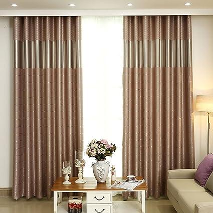 Tende Moderne Tende semplici moderne tende di colore soggiorno ...