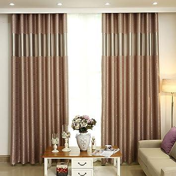 Rideaux Rideaux simple couleur moderne rideaux salon chambre ...