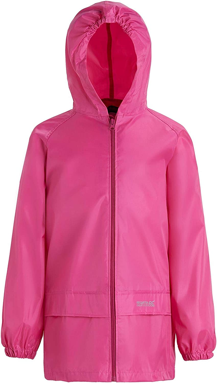 Regatta Unisex Kids Hubbell Waterproof Mesh Lined Hooded Outdoor Jacket