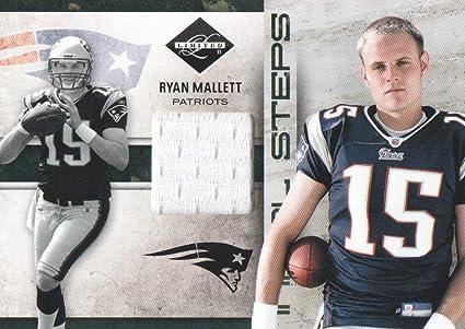 2011 Limited Initial Steps JERSEY NFL #25 Ryan Mallett 75/99 ...