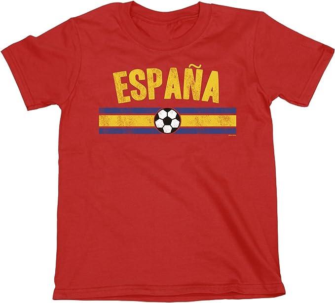 buzz shirts NIÑOS O NIÑAS Spain Distressed Country FÚTBOL Camiseta ...