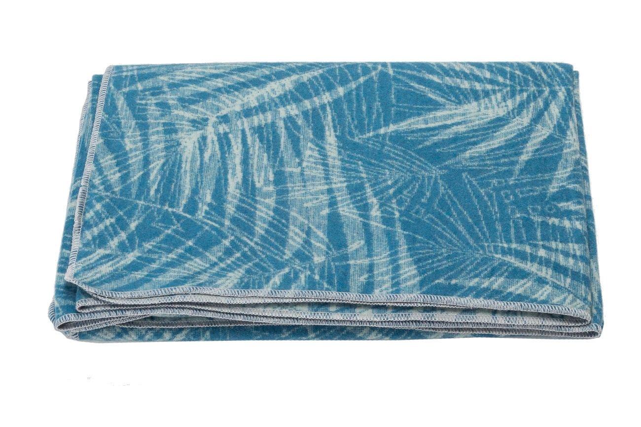 und Allzweckdecke cotton atlantik 140 x 200 cm David Fussenegger SILVRETTA Flanell