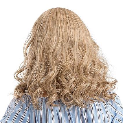 Amazon Com Iusun Wigs 45cm Women S Full Front Short Curly Yellow
