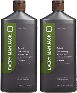 product image for Every Man Jack 2-in-1 Thickening Shampoo Plus Conditioner - Tea Tree - 13.5 oz - 2 Pack