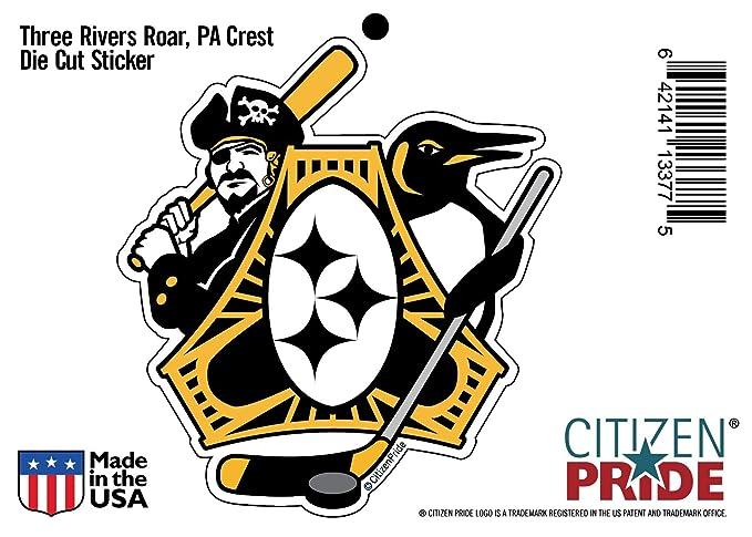 Amazon Citizen Pride Pittsburgh Three Rivers Roar Sports Fan