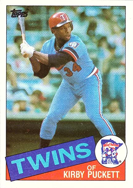 1985 Topps Baseball 536 Kirby Puckett Rookie Card