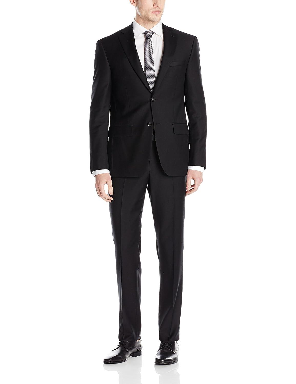 DKNY Mens All Wool Slim Fit Suit Business Suit Pants Set