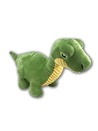 Amazon Com Kellytoy Dinosaur 11 Plush Animal Toy Green Toys Games