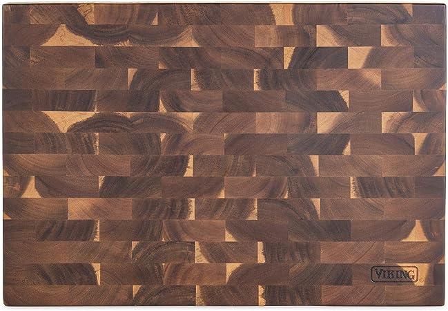 Viking End-Grain Acacia Wood Cutting Board