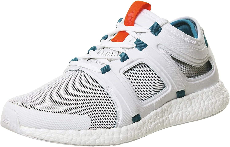 adidas CC Rocket M, Zapatillas de Running para Hombre, Blanco/Verde/Rojo (Ftwbla/Eqtver/Rojimp), 40 EU: Amazon.es: Zapatos y complementos