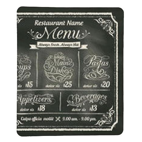 alfombrilla de ratón Diseño del menú del restaurante de ...