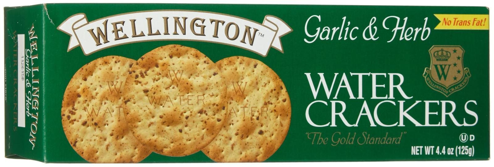 Wellington Garlic And Herb Water Cracker