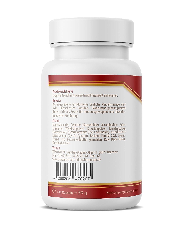 Best Of verduras - Multi Vitamin pastillas * hochdosierte vitaminas ...