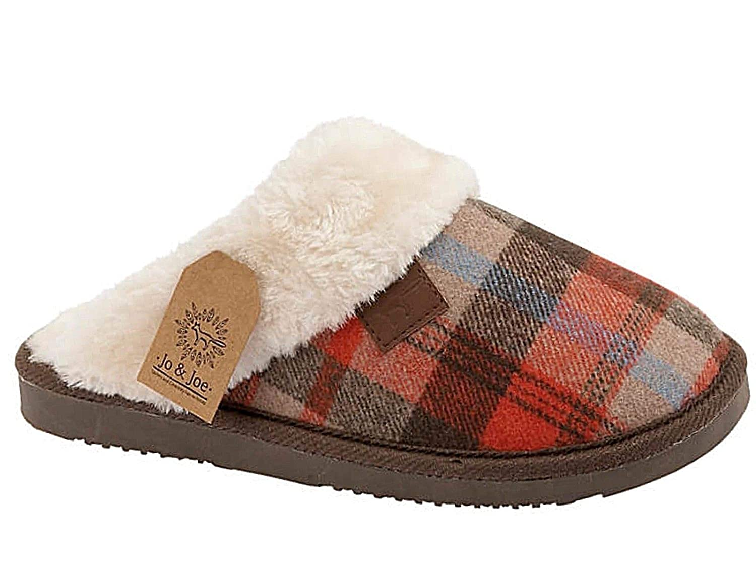 Sky_Walker_df , pour Brown Chaussons pour Femme Brown Sky_Walker_df Tartan 74f94e7 - latesttechnology.space