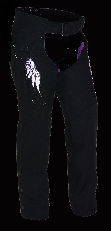Milwaukee Performance SH1956-BKPNK-XL Womens Doublon Chaps with Wings NexGen Black//Pink, X-Large