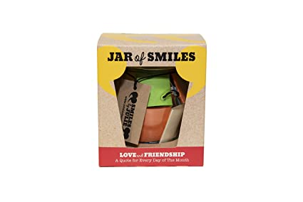 Amazon Com Love Friendship In A Jar Month Of Thoughtful Happy