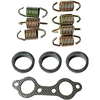 WGL Exhaust Seal Gasket Spring Rebuild Kit Fits for 1996-2000 Polaris Sportsman 500#5240898
