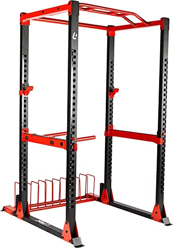 Lifeline C1 Pro Power Squat Rack System for Weight Training and Body Building – Full or Half Rack Models Available