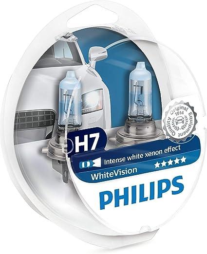 H7 55 W Super Blanc XENON 499 Ampoules Phare Voiture 12 V W5W 501 DEL sidelights un