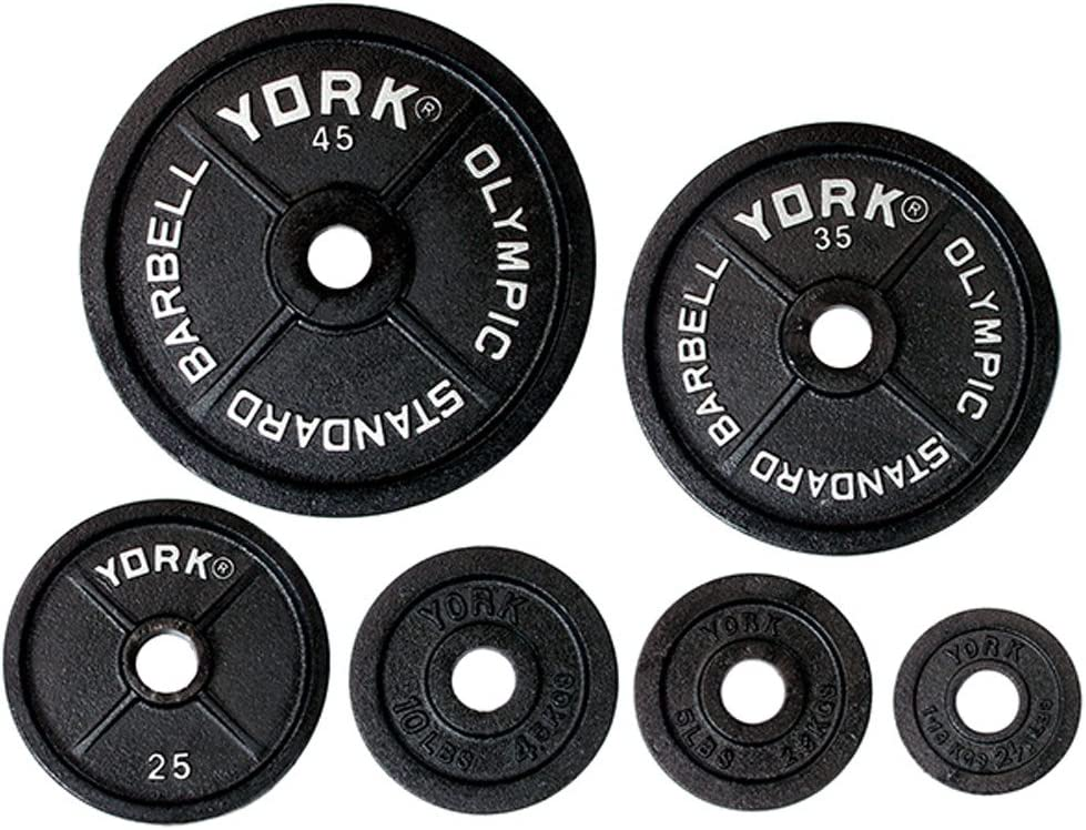 York Barbell York 2 Legacy Cast Iron Precision Milled Olympic Plate