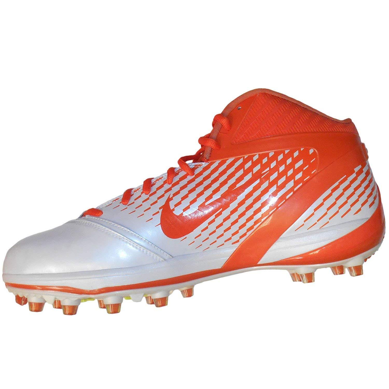 NIKE AIR Zoom Alpha Talon Mens Football schuhe Weiß Brillent Brillent Brillent Orange 12.5 M 3ed99b