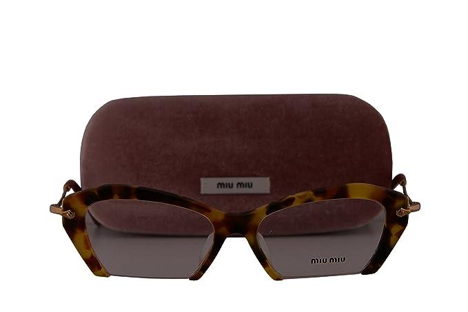 87d558628c8f Image Unavailable. Image not available for. Colour  Miu Miu MU03OVA  Eyeglasses 53-17-140 Sand Medium Havana ...