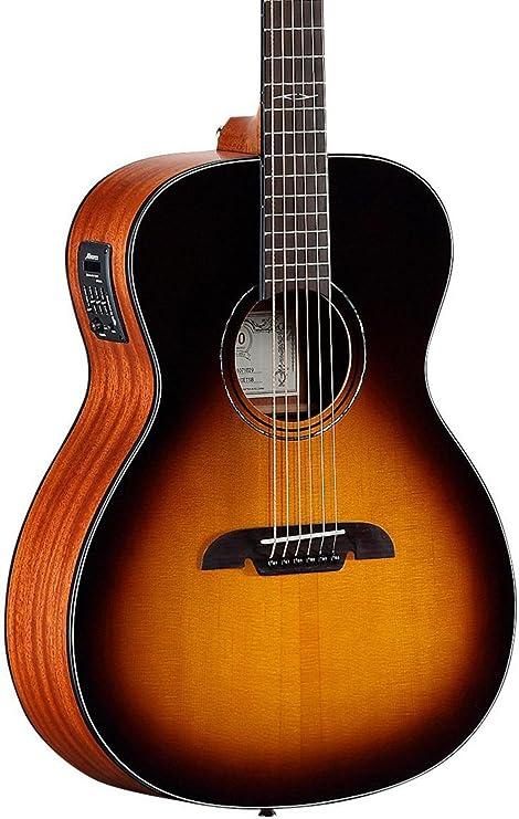 Alvarez AF610ESB Folk - Guitarra acústica eléctrica: Amazon.es ...