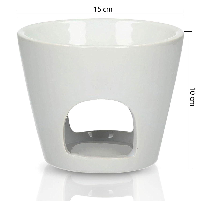 Aromabrenner Große Duftlampe Keramik Weiß ˜ 15cm Höhe 10cm