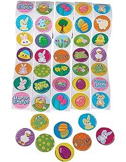 Amazon.com: Easter Eggs - Plastic Bright Egg Assortment (144 pc ...