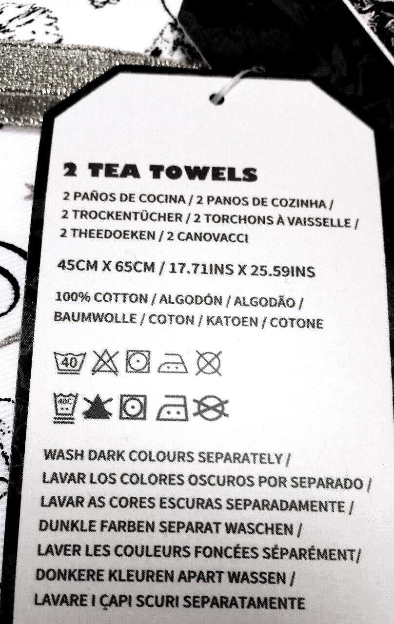 amazon com harry potter hogwarts kitchen bar tea or guest towels rh amazon com
