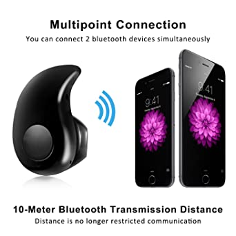 Amazon.com: Esonstyle Mini Ultra-small S530 4.0 Stereo Bluetooth Headset Earphone Earbud for Iphone,samsung,and Other Bluetooth Devices (Black): Cell Phones ...