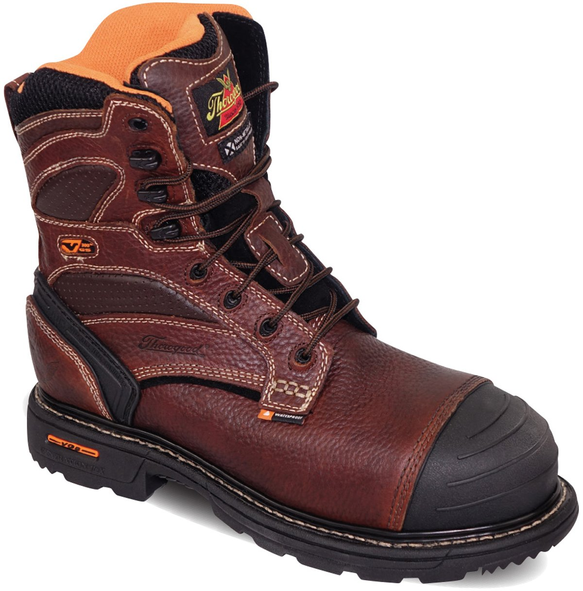 Thorogood/Mens Gen-flex3/8 Insulated Waterproof Composite Safety Toe Boot