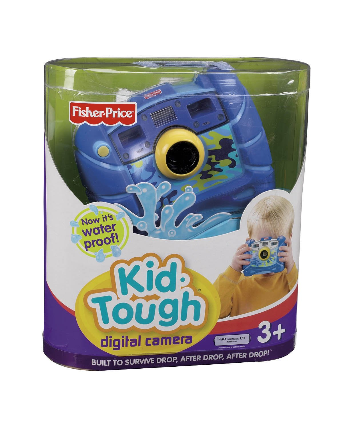 Fisher-Price Kid-Tough Waterproof Digital Camera Blue