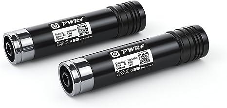 Batteria Xcell 3,6V 2,1Ah Ni-mh per Black /& Decker VP-100,VP100,VP-130,VP130