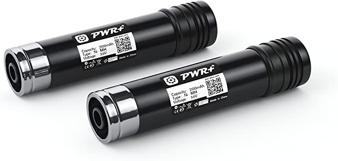 151995-03 387854-00 2-Pack HQRP Battery for Black /& Decker 3.6V VersaPak Tools