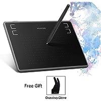 Huion Inspiroy H430P Tableta gráfica Gráfica Tableta de Dibujo 4.8 x 3 Pulgadas con lápiz sin batería Reconocer 4096 Presión del lápiz para Windows y Mac