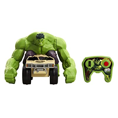 Avengers: XPV Marvel-RC Hulk Smash Toy Vehicle: Toys & Games