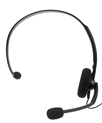 Elite Official Wired Headset Black XBOX 360: Amazon co uk