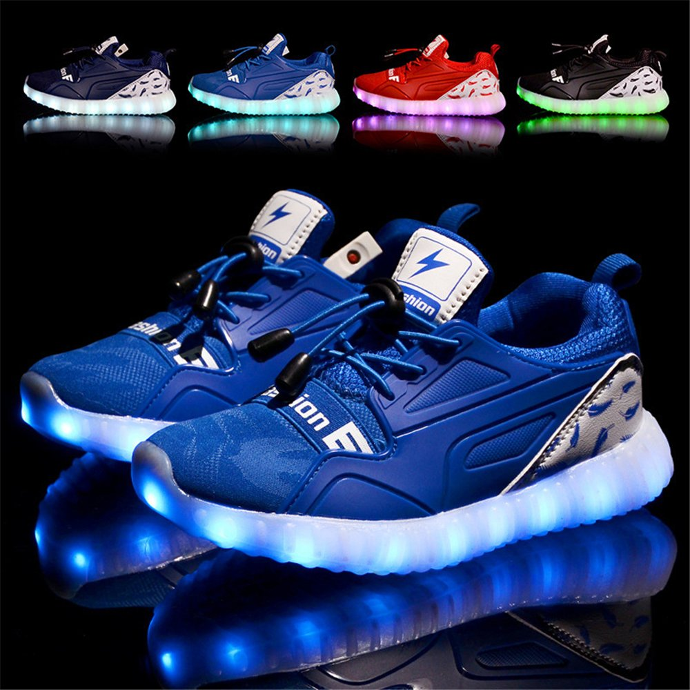 Mr/Ms strengths Kids LED Light up Shoes Luminous Flashing Flashing Flashing Sneakers for Boys Girls (Toddler/Little Kid/Big Kid) Charming design Fast delivery Non-slip VR11373 45c74b