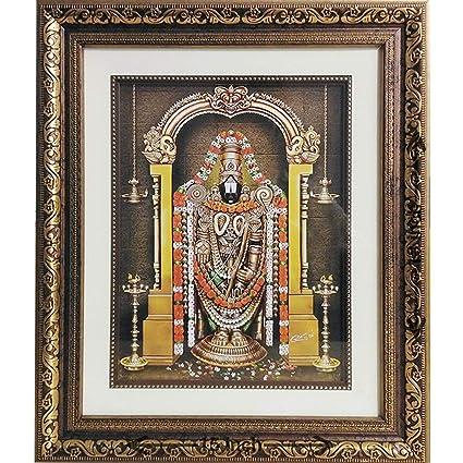 Buy Tirupati Balaji (Lord Venkateswara Swamy) - God Photo Double