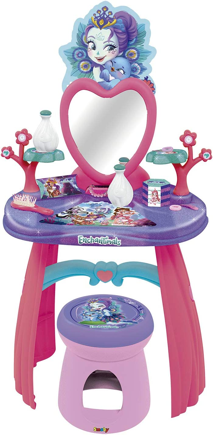 320229 Pink Smoby Enchantimals Dressing Table Purple